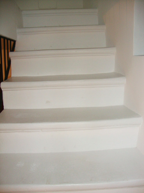 Reform of interior stairs