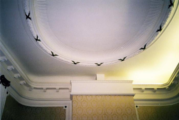 ремонт потолка в доме