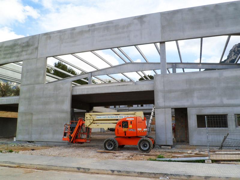 Construcción de obra nueva en soller